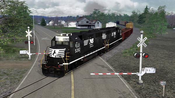 скриншот TS Marketplace: Norfolk Southern N-Line Scenario Pack 01 3