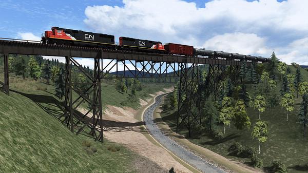 скриншот Train Simulator: Canadian National SD70 Loco Add-On 2