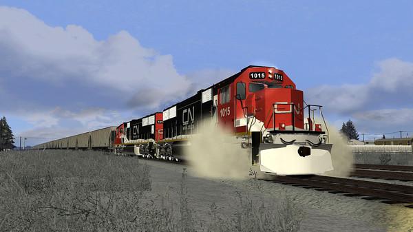 скриншот Train Simulator: Canadian National SD70 Loco Add-On 5