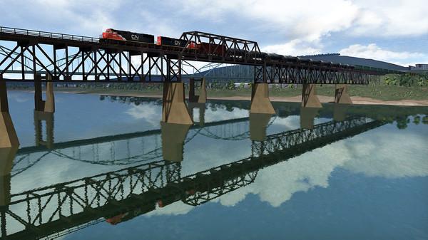 скриншот Train Simulator: Canadian National SD70 Loco Add-On 4