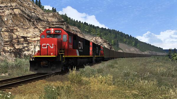 скриншот Train Simulator: Canadian National SD70 Loco Add-On 0