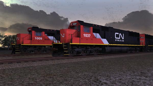 скриншот Train Simulator: Canadian National SD70 Loco Add-On 1