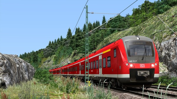 скриншот Train Simulator: Nuremberg & Regensburg Bahn 1