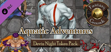Купить Fantasy Grounds - Devin Night Token Pack 111: Aquatic Adventures (Token Pack) (DLC)