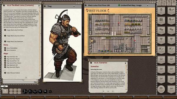 Fantasy Grounds - Streets of Zobeck (5E) (DLC)