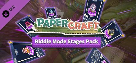 Купить Papercraft:Riddle Mode stages pack (谜题模式关卡包) (DLC)