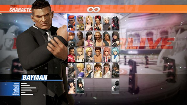 DOA6 Happy Wedding Costume Vol.1 - Bayman (DLC)