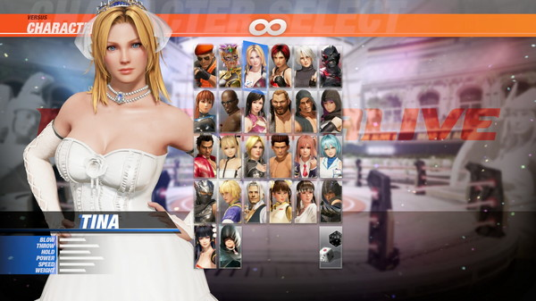 DOA6 Happy Wedding Costume Vol.2 - Tina (DLC)