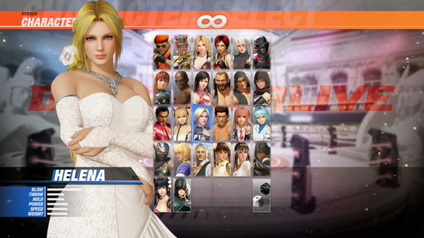 DOA6 Happy Wedding Costume Vol.2 - Helena (DLC)