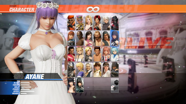 DOA6 Happy Wedding Costume Vol.2 - Ayane (DLC)