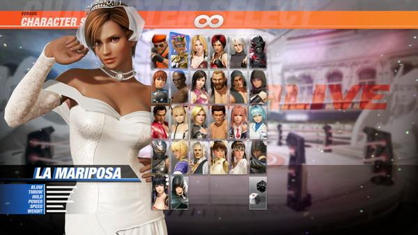 DOA6 Happy Wedding Costume Vol.2 - La Mariposa (DLC)
