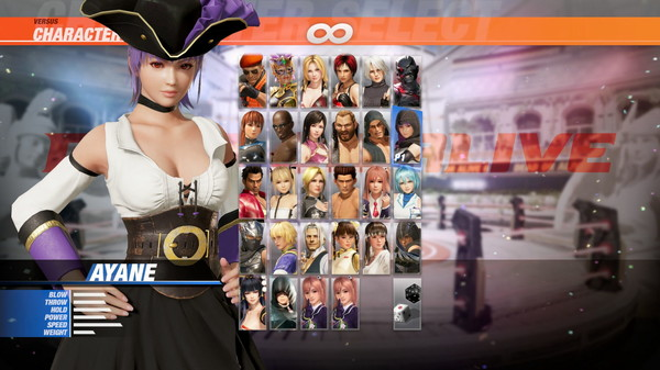 DOA6 Pirates of the 7 Seas Costume Vol.1 - Ayane (DLC)