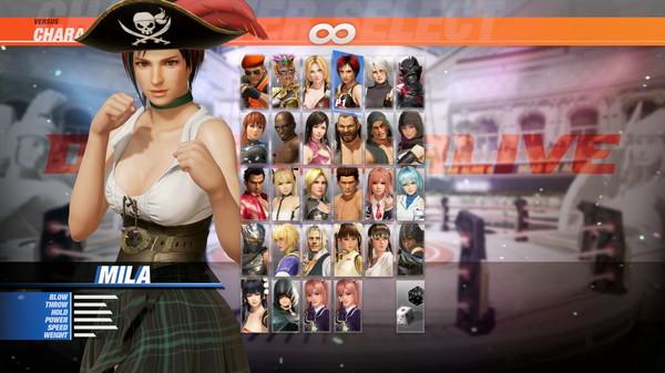 DOA6 Pirates of the 7 Seas Costume Vol.1 - Mila (DLC)