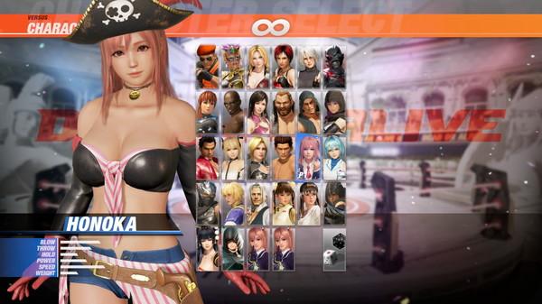 DOA6 Pirates of the 7 Seas Costume Vol.1 - Honoka (DLC)