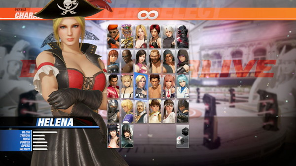 DOA6 Pirates of the 7 Seas Costume Vol.2 - Helena (DLC)