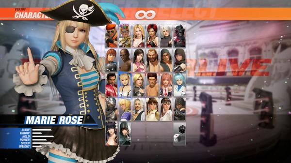 DOA6 Pirates of the 7 Seas Costume Vol.2 - Marie Rose (DLC)