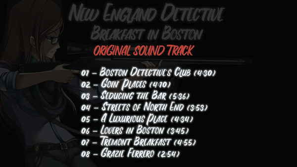 New England Detective: Breakfast in Boston OST and Artbook (DLC)
