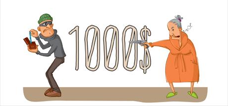 1000$