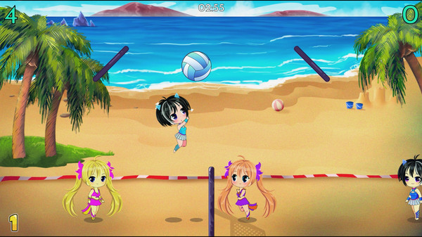 Chibi Volleyball