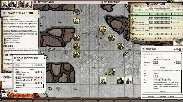 Fantasy Grounds - Pathfinder RPG - The Tyrant's Grasp AP 4: Gardens of Gallowspire (PFRPG) (DLC)