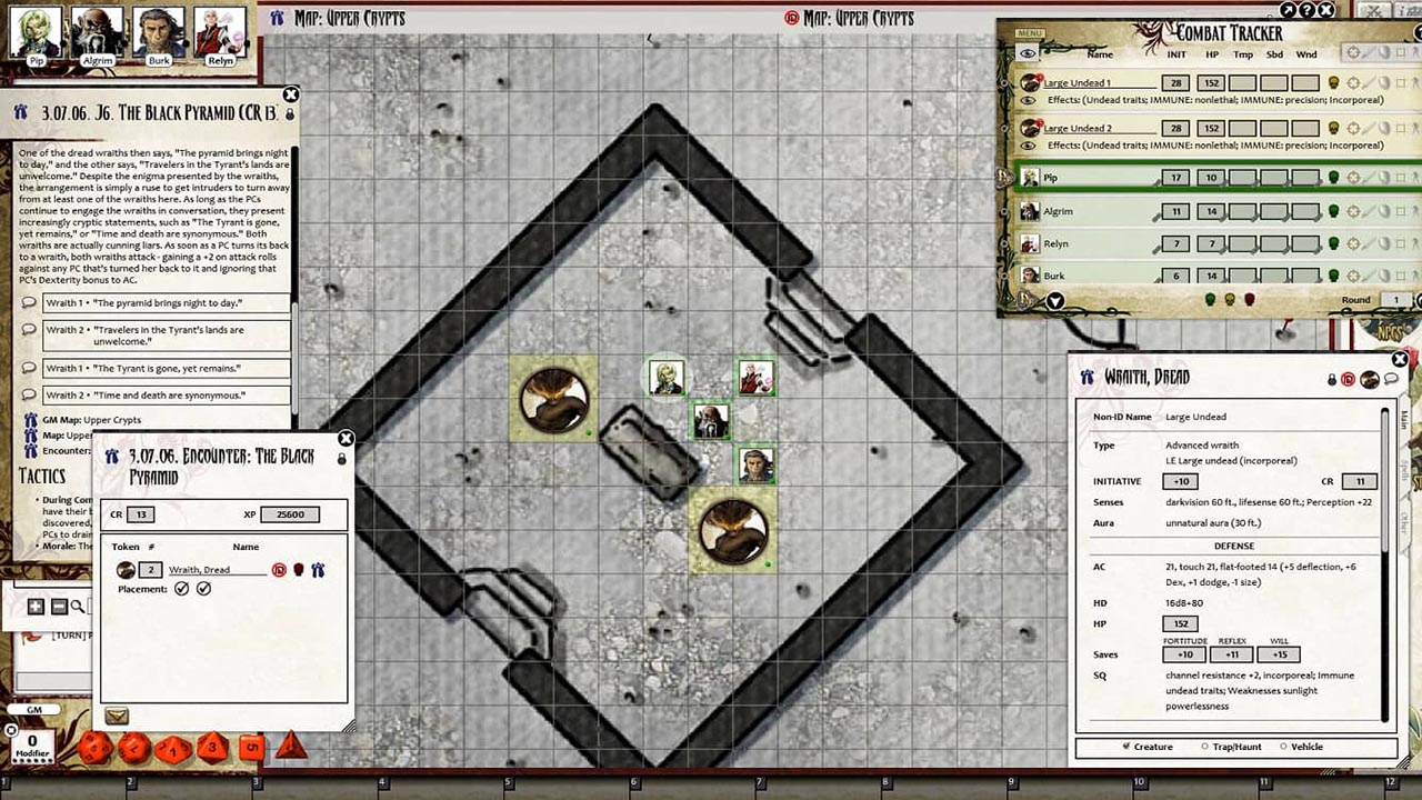 Fantasy Grounds - Pathfinder RPG - The Tyrant's Grasp AP 4: Gardens of  Gallowspire (PFRPG)