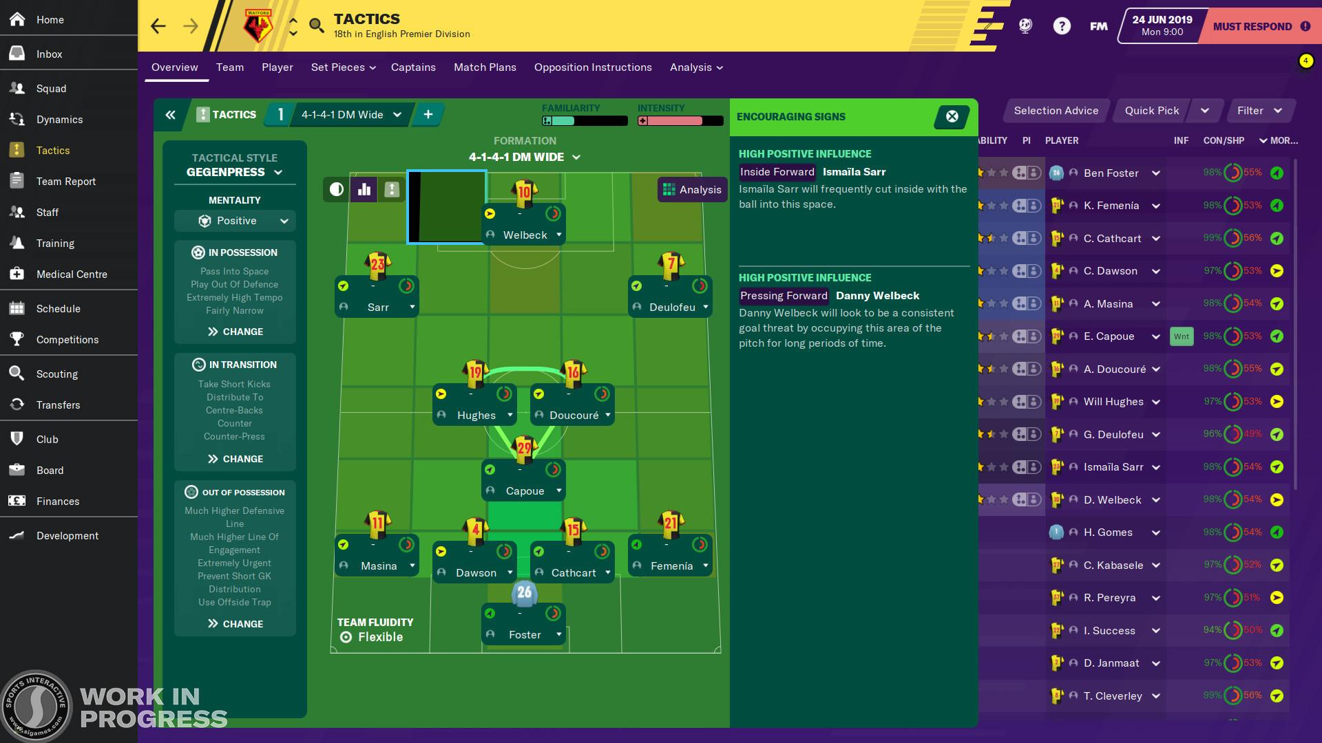 Football Manager 2020 Resimleri