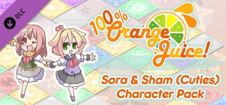 Купить 100% Orange Juice - Sora & Sham (Cuties) Character Pack (DLC)