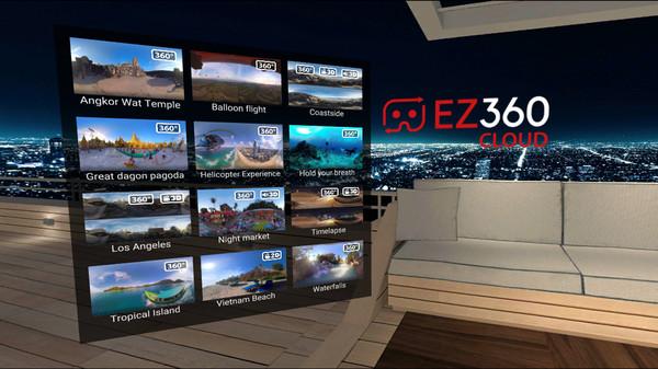 EZ360 VR player