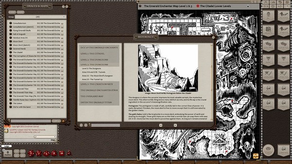 Fantasy Grounds - Dungeon Crawl Classics #69: The Emerald Enchanter (DCC) (DLC)