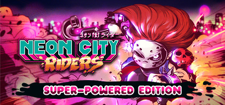 Neon City Riders Capa