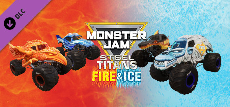 Monster Jam Steel Titans - Fire & Ice Truck Bundle