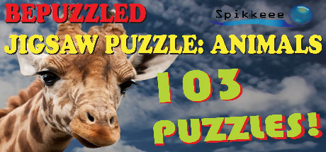 Bepuzzled Jigsaw Puzzle: Animals 103 Puzzles
