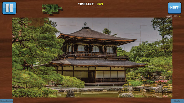 Bepuzzled Jigsaw Puzzle: Japan