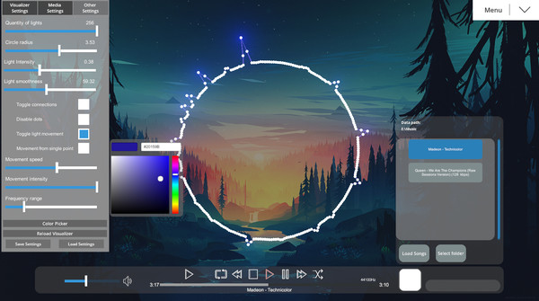 Powelus's Audio Visualizer