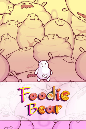 Foodie Bear poster image on Steam Backlog
