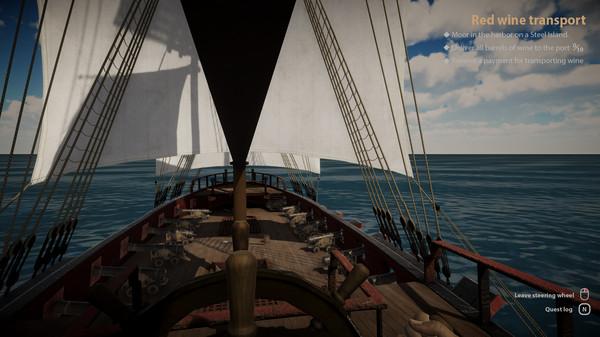 Screenshot of Medieval Sailor Simulator