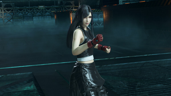 DFF NT: Leather Suit Appearance Set for Tifa Lockhart (DLC)
