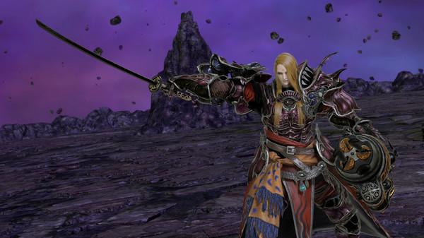DFF NT: Omega Samurai Blade, Zenos yae Galvus's 4th Weapon (DLC)