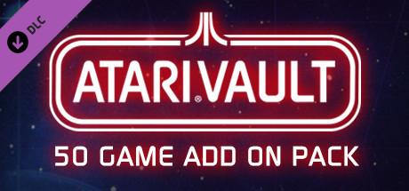 Atari Vault - 50 Game Add-On Pack cover art