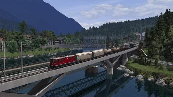 скриншот Train Simulator: Surselva Line: Reichenau-Tamins - Disentis/Mustér Route Add-On 0