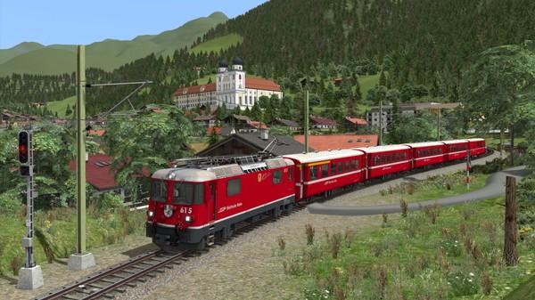 скриншот Train Simulator: Surselva Line: Reichenau-Tamins - Disentis/Mustér Route Add-On 4