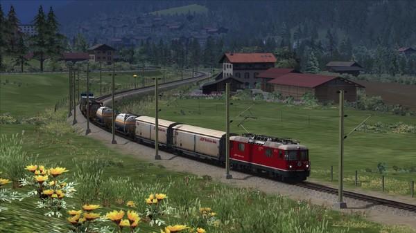 скриншот Train Simulator: Surselva Line: Reichenau-Tamins - Disentis/Mustér Route Add-On 1