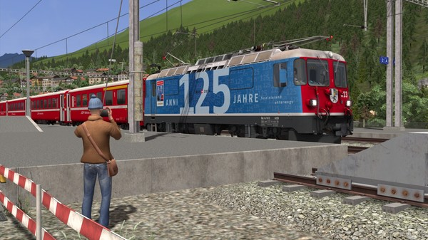 скриншот Train Simulator: Surselva Line: Reichenau-Tamins - Disentis/Mustér Route Add-On 5