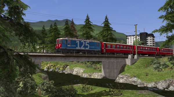 скриншот Train Simulator: Surselva Line: Reichenau-Tamins - Disentis/Mustér Route Add-On 2