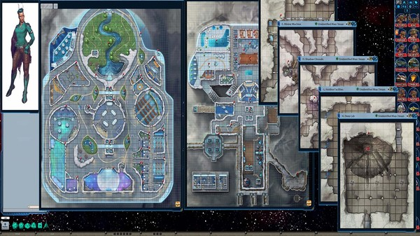 Fantasy Grounds - Starfinder RPG - Signal of Screams AP 1: The Diaspora Strain (SFRPG) (DLC)