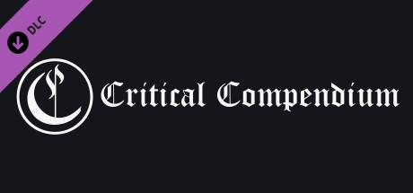 Critical Compendium - Donation DLC