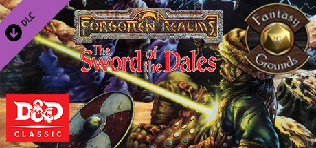 Купить Fantasy Grounds - D&D Classics: The Sword of the Dales (2E) (DLC)