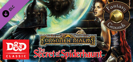 Купить Fantasy Grounds - D&D Classics: The Secret of Spiderhaunt (2e) (DLC)