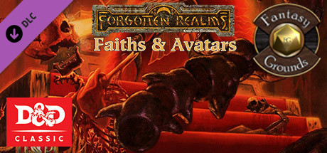 Купить Fantasy Grounds - D&D Classics: Faiths & Avatars (2e) (DLC)