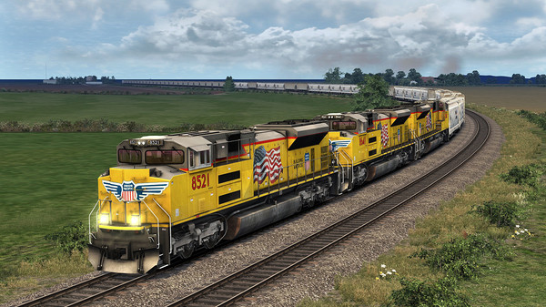 скриншот Train Simulator: Granger Heartland: Kansas City – Topeka Route Add-On 4